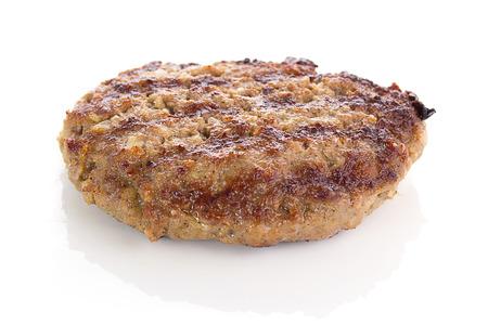 Fried Burger Beef Patty