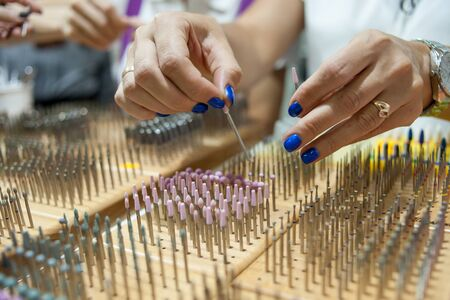Cutters for manicure machine