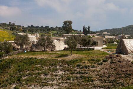 Arab village on a hill
