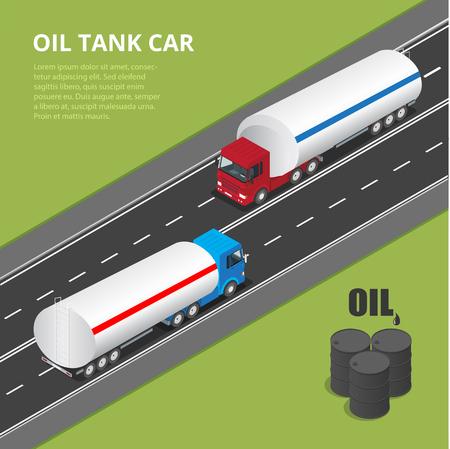 ring road: Flat isometric high quality transport icon set. Illustration
