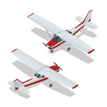 Ilustración de un avión. vuelo del avión. icono de plano. vector de avión. Plano de escritura. Plano 3d ilustración vectorial plana. isométrica avión