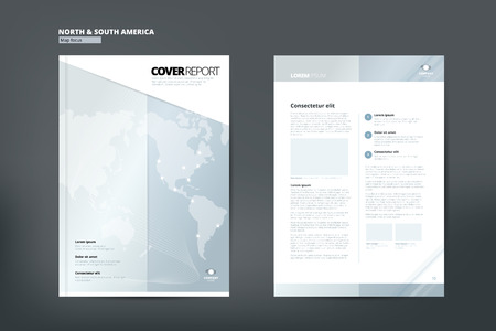 catalog design: Modern Cover Annual Report Brochure - business Brochure - Catalog Cover, Catalog design, Cover design layout. A4. Cover front page and back page. Illustration