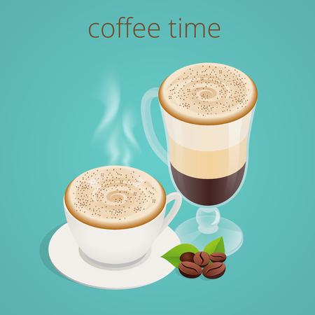 socializando: la hora del café o café. Grupo Las personas que charlan Interacción Socializar Concepto.