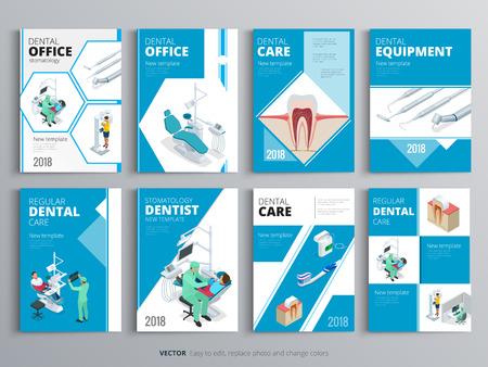 건강 및 의료 개념에 대 한 우대입니다. 플라이어, 잡지, 포스터, 책 표지, 배너의 위생 템플릿. 클리닉 infographic 개념 배경입니다. 레이아웃 치과 일러 일러스트