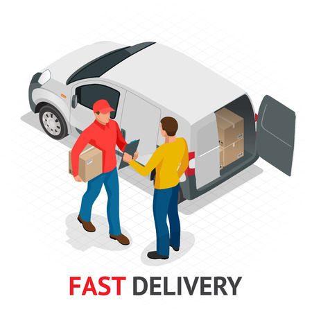 Fast delivery concept Imagens - 92731657