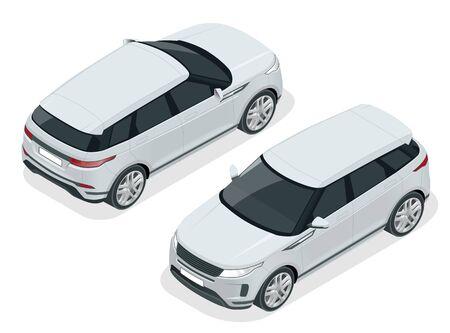 Off-road write car Modern VIP transport.