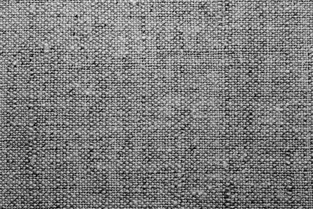 Textura de una tela de lino, una imagen en blanco y negro.