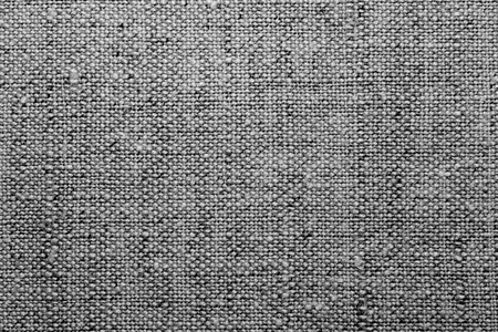 Texture a linen cloth, a black and white image. Stock Photo