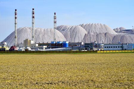 Industrial enterprise for production of potash fertilizers.