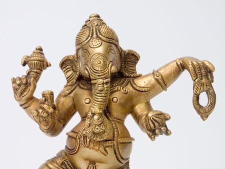 Part of Ganesha brass statue