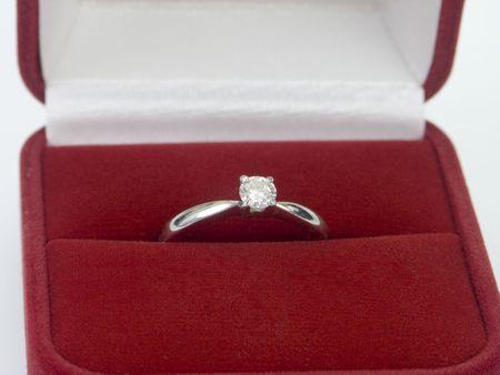 Diamond ring Valentines day gift photo