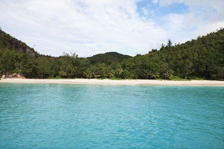 bay of anse lazio praslin seychelles islands Banque d'images - 121743182