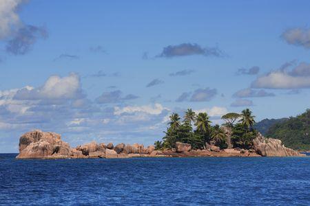 saint pierre island in seychelles islands indian ocean Zdjęcie Seryjne