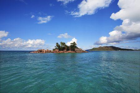 saint pierre island in seychelles idian ocean Banque d'images - 121743186