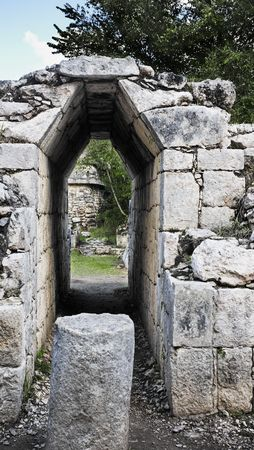 Chichen Itza in the yucatan was a Maya city and one of the greatest religious center and remains today one of the most visited archeological sites 스톡 콘텐츠 - 121743259
