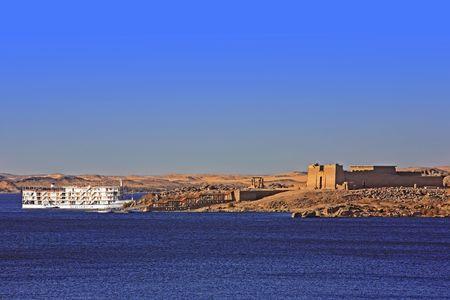 Hotelboot-Kreuzfahrt auf dem Nil in Ägypten