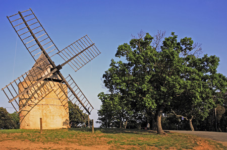 paillas windmill of ramatuelle near saint tropez on the french riviera