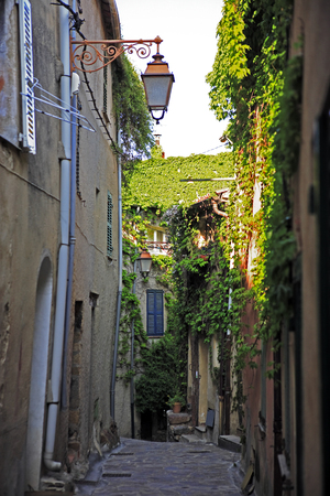 view of the typical south east of france old stone village of ramatuelle near saint tropez on the french riviera  Stock fotó