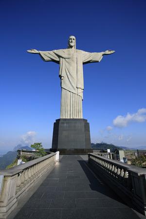 corcovado christ rédempteur à de janeiro brésil