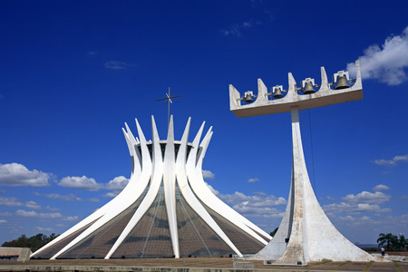 cathedral of brasilia city capital of brazil Stock Photo