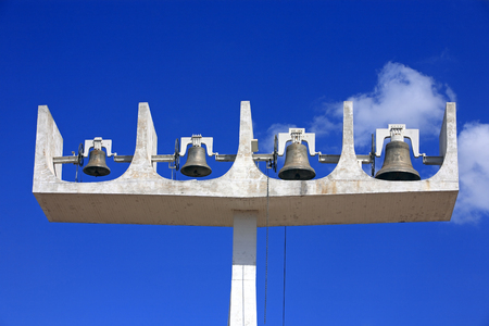 bells of the cathedral of brasilia city capital of brazil