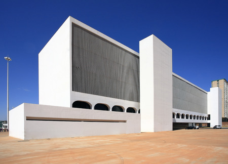 new cultural complex national library brasilia city capital of brazil