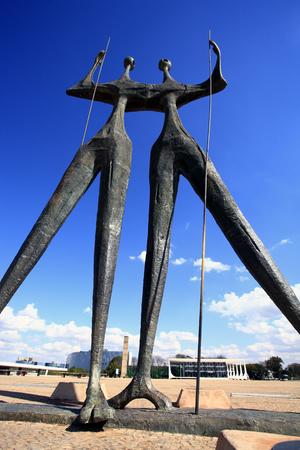 Square of the Three Powers brasilia city capital of brazil