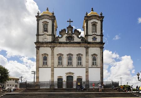 bonfim church in the beautiful city of salvador in bahia state brazil