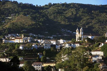 city of ouro preto in minas gerais brazil Фото со стока - 121743830