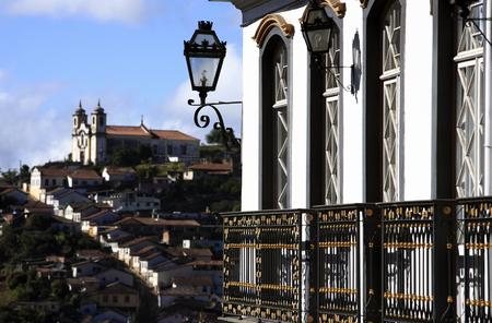 city of ouro preto in minas gerais brazil Фото со стока - 121743837