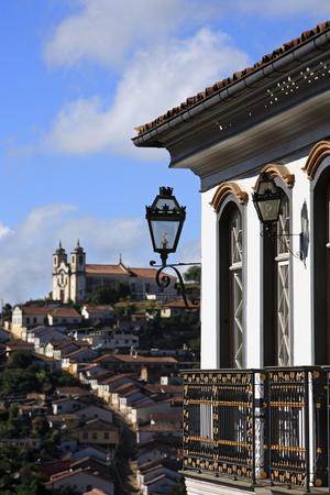 city of ouro preto in minas gerais brazil Фото со стока - 121743838
