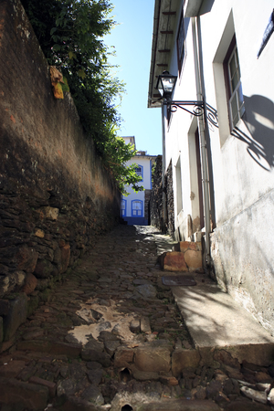 view of the unesco world heritage city of ouro preto in minas gerais brazil Фото со стока - 121743851