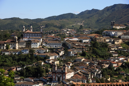 city of ouro preto in minas gerais brazil Фото со стока - 121743852