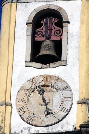 view of the Igreja de Santa Efigenia dos Pretos,city of ouro preto in minas gerais brazil Фото со стока - 121743855