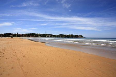 praia ferradura in the beautiful typical brazilian city of buzios near rio de janeiro in brazil Banco de Imagens