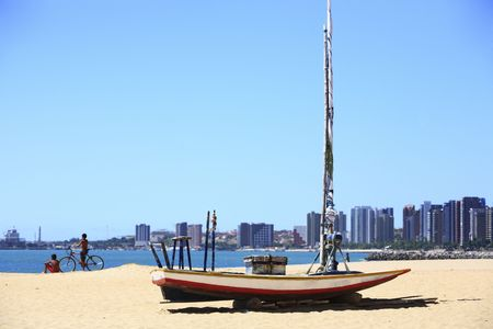 waterfront of Fortaleza in ceara state brazil Stock Photo
