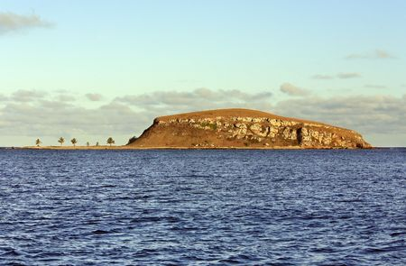 view of the national park of the Abrolhos island bahia state brazil Banco de Imagens