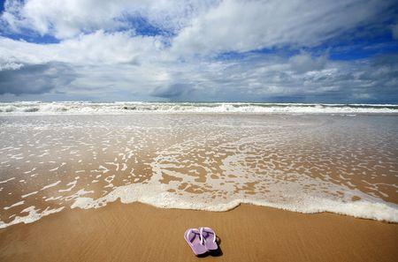 La plage de sitio do conde dans l'état de bahia au brésil
