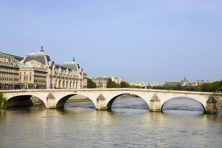 in the beautiful city of paris france