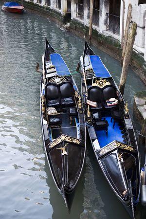 gondola in the beautiful city of venice in italy 版權商用圖片