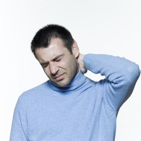 expresivo retrato sobre fondo aisladas de un apuesto hombre, Foto de archivo