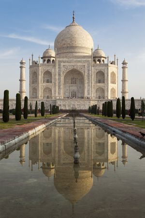 taj mahal agra uttar pradesh in india Stock Photo - 6974339