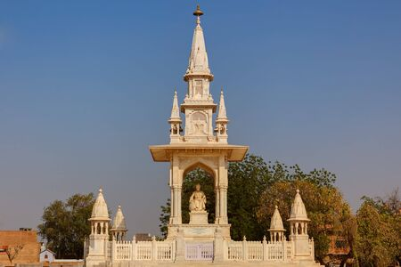 bikaner: gangar singh monument in city of Bikaner rajasthan state in indi LANG_EVOIMAGES