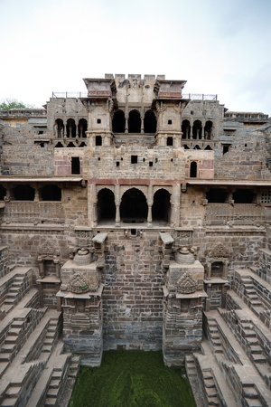 chand: the giant step well of abhaneri in rajasthan state in indi