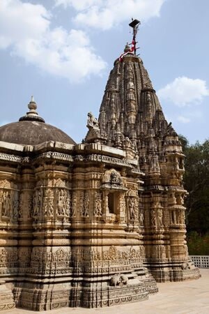 adinath jain temple in rajasthan state in india Stock Photo - 9823855