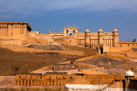 Amber Fort in jaipur in rajasthan state in india Stock Photo - 9823807