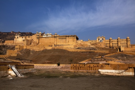 Amber Fort in jaipur in rajasthan state in india Stock Photo - 9823836