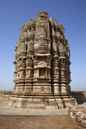 inside the Chittorgarh fort aera in rajasthan state in india Stock Photo - 9841259