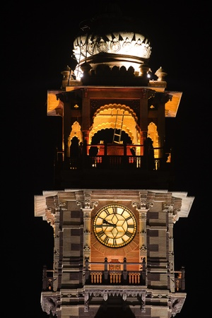 clock tower  in the beautiful city of jodhpur in rajasthan state in indi Stock Photo - 9823773