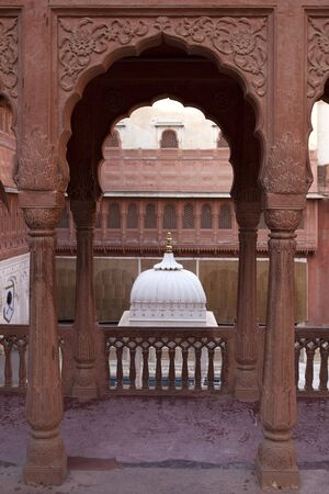 fort of Mandawa rajasthan state in indi Stock Photo - 9823843